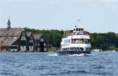thousand island boat cruise cruises schedules rockport cruises