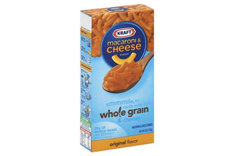 6 oz whole grains kraft original flavor whole grain macaroni cheese dinner