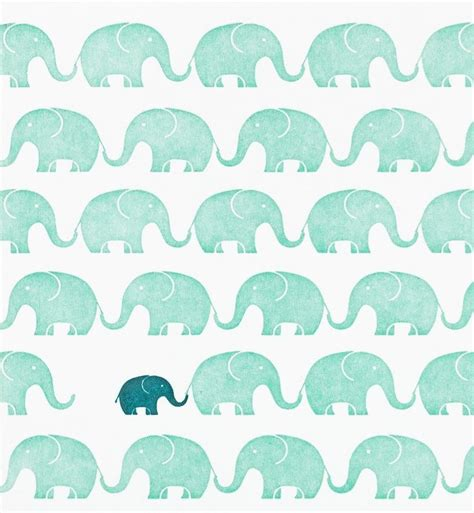 pattern cute blue cute elephant pattern tumblr baby shower pinterest
