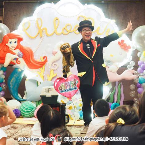party magician kids magic show happier singapore