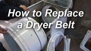 how to replace a belt on a maytag dryer youtube