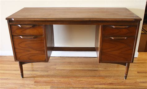 Walnut Picked Vintage What Is A Desk