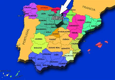 espa 241 a y sus comunidades aut 243 nomas mapa regiones de espana mapa de espana y sus provincias car interior design espa 241 a mapa