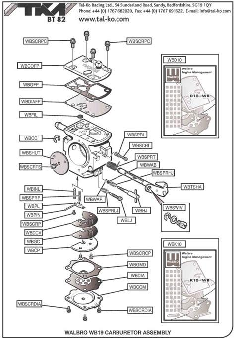 tillotson carb diagram tillotson hr carb diagram tillotson carburetor parts