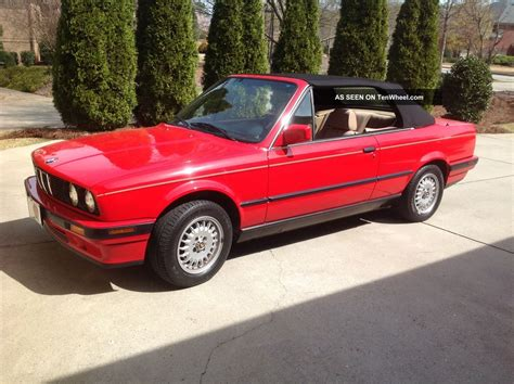 Bmw 318i Convertible by 1991 Bmw 318i Base Convertible 2 Door 1 8l