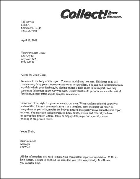 Letter To A Company Downloads Client Letter