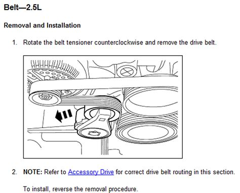 2007 Ford Fusion Belt Diagram 4 Cylinder