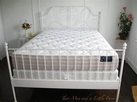 Ikea White Iron Bed Frame Fs Ikea Size White Iron Beautiful Bed Frame Nepean Ottawa