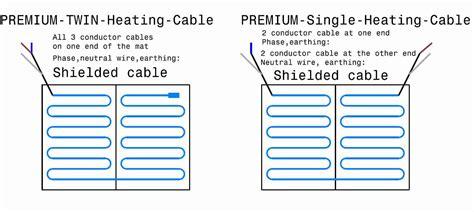wiring diagram for underfloor heating mats directional