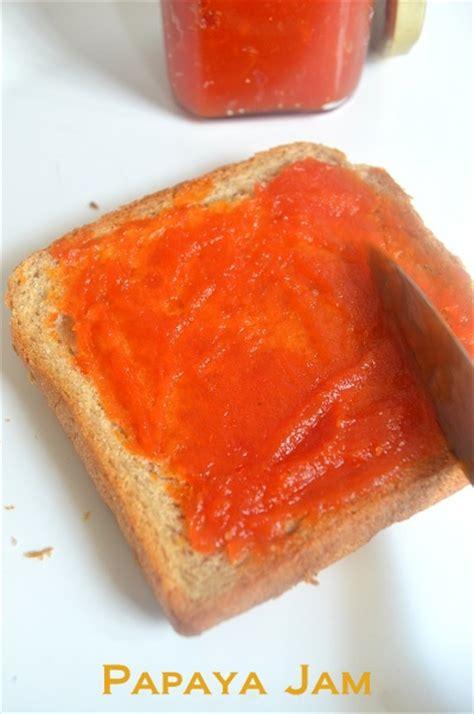 Papaya Home Made papaya jam recipe without pectin and preservatives pink and pink