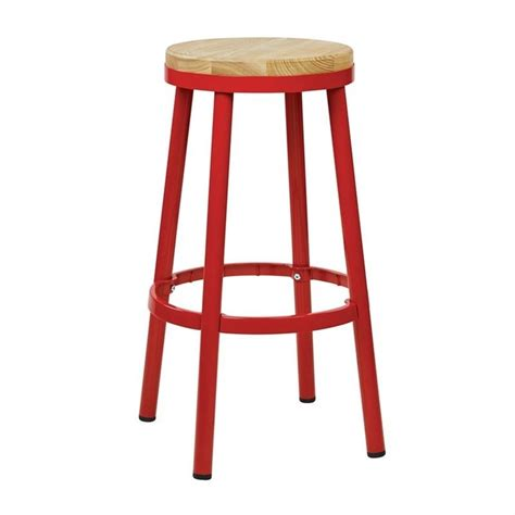 Metal Backless Bar Stools by Metal Backless Bar Stool In Brw3226 30 9