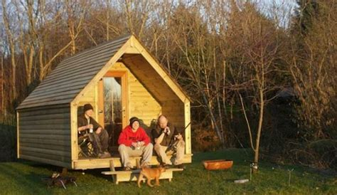 How To Build A Tent Cabin by The Log Pod Tiny Cabin