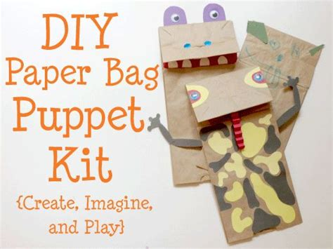 20 best images about paper bag puppets on crafts template and paperbag