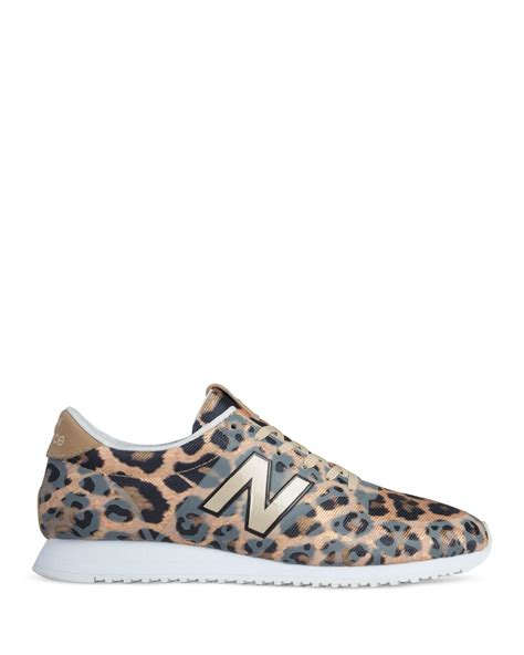 leopard sneakers new balance leopard print 420 sneakers in animal leopard