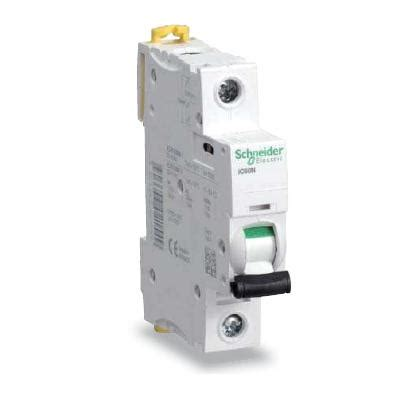 acti 9 ic60n mcb 1p 6a d curve miniature circuit breaker mcb elecrical distribution