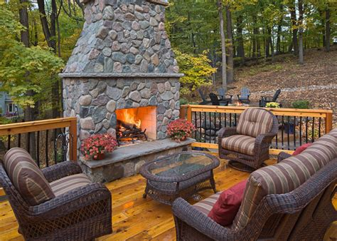 outdoor fireplaces firepits axel landscape