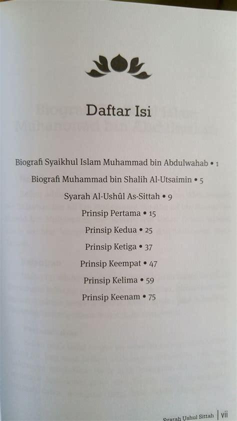 Buku Islam Diktat Ahkamun Nisa buku syarah ushulus sittah toko muslim title