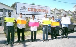 church roasts chronicle for inciting race hate   guyana