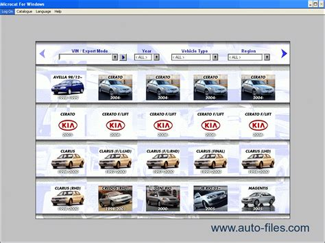 Kia Parts Catalogue Kia Spare Parts Catalog