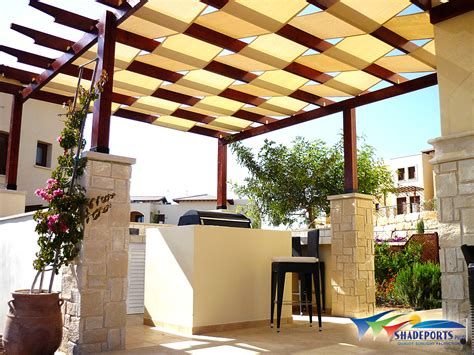 pergola with fabric 25 simple pergolas shade covers pixelmari