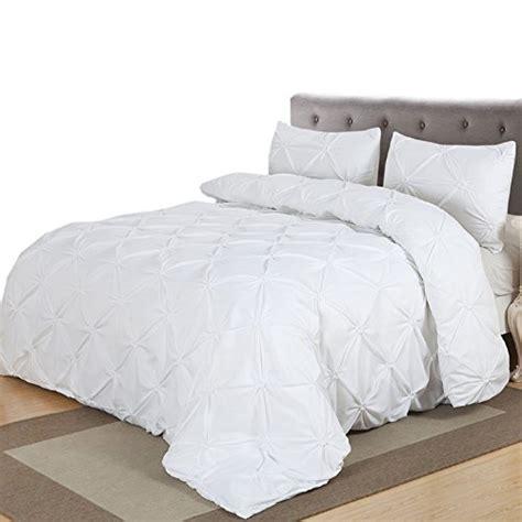 White Pinch Pleat Comforter by Lucilla Pinch Pleat Duvet Cover Sets White King Duvet