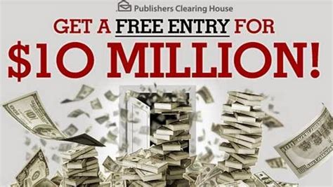 Mega Millions Clearing House Sweepstakes - win the pch 10 million sweepstakes and contest caroldoey