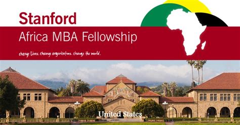 Stanford Mba Us News by Stanford Africa Mba Fellowship 2017 2018 Voices Of Youth