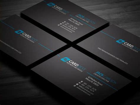 Business Card Template Https Brandpacks Wxqzx by 187 Http Cardzest Classic Black Minimalist