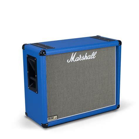 marshall mx212 2x12 guitar speaker marshall 1936 2x12 guitar speaker cab regency blue at