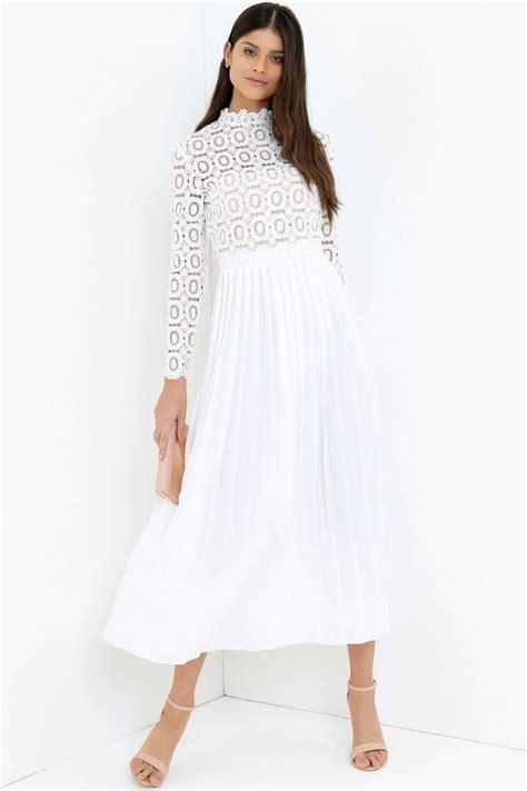 Tc49 Midi Keyhole Maxi Dress white midi dress from uk