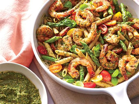 best pesto pasta recipe spinach pesto pasta with shrimp 23 pasta recipes