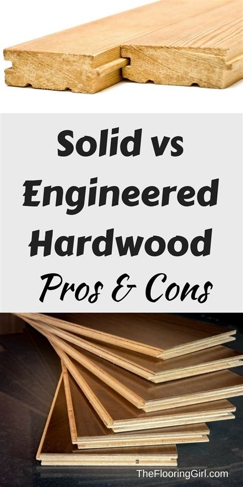 Engineered Hardwood Floors Pros And Cons by 1000 Ideas About Solid Hardwood Flooring On