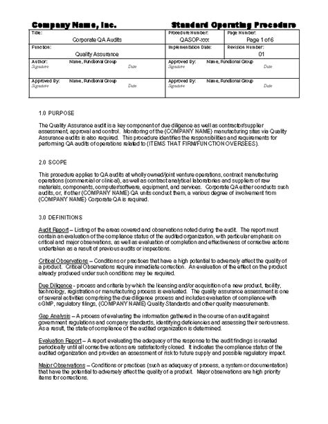 gmp audit report template gmp audit report template 28 images gmp auditor course
