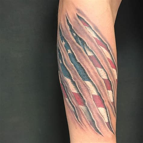 american flag tattoo on arm 53 coolest must designs for patriotic 4th july tattoos