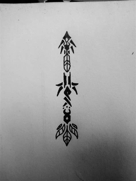 tribal arrow tattoo tribal arrow search ideas for tattoos