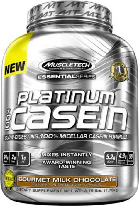 Platinum Casein Muscletech 182 Lbs On Casein Time Release platinum 100 casein by muscletech essential series at bodybuilding best prices on