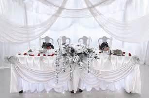 tenture mariage organza tentures mariage