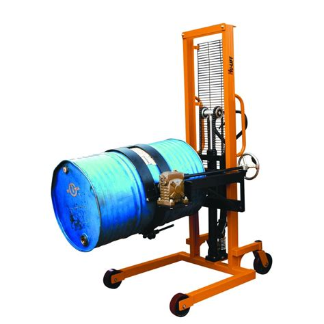 Drum Stacker hydraulic drum stacker pedestrian powered equipment