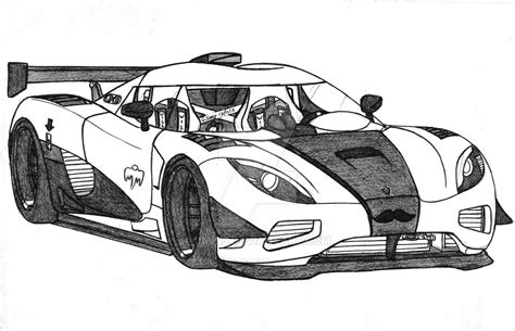 koenigsegg one drawing koenigsegg agera r by jmig3 on deviantart
