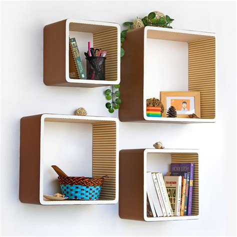 wall shelf designs creative idea awesome modern square wall shelves for