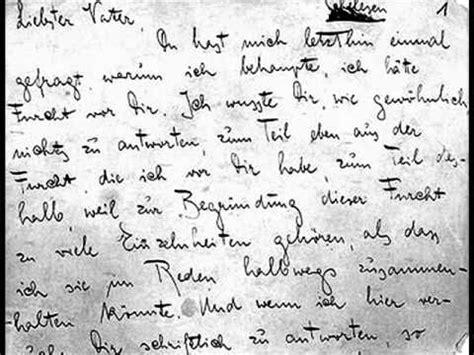 lettere al padre f kafka lettera al padre lettura integrale