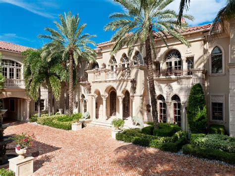 nice mansions 23 000 square foot mediterranean mega mansion in manalapan