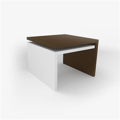 neo square coffee table officescene