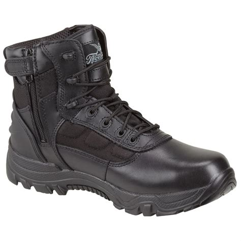 thorogood mens boots s thorogood 174 6 quot waterproof side zip tactical boots