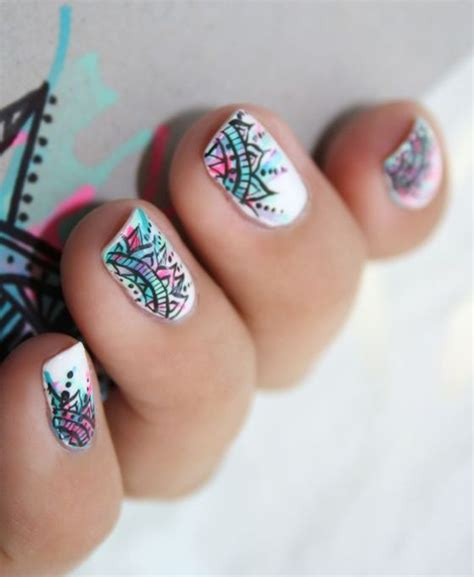 imagenes uñas de moda dise 241 o de u 241 as estilo mandala decoraci 243 n de u 241 as