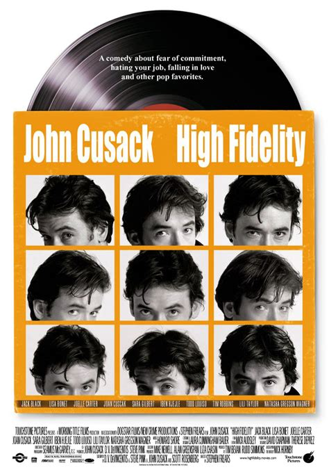 high fidelity posters high fidelity 2000