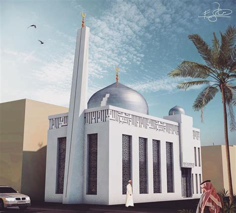 design of masjid minar modern impact in the old core of manama city when removing