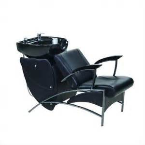 shoo station chair reclining bowl unit salon backwash