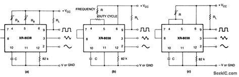 integrated circuit precision waveform generator 28