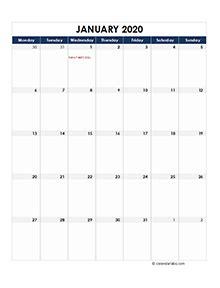 printable  ireland calendar templates  holidays
